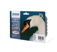 Комплект оригинальных картриджей Epson T081*