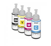 Оригинальные чернила для 4-цветных принтеров Epson L-серии