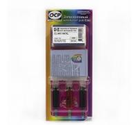 Заправочный комплект OCP (C/M/Y 710) для картриджей CANON CL-441/441XL COLOR, 3х5 мл