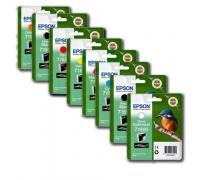 Оригинальные картриджи Epson R2000 ( T159* )
