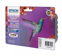 Картриджи Epson T080* C13T080A4A10