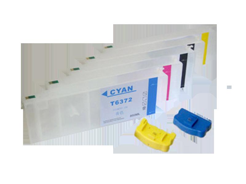 Комплект ПЗК для плоттера Epson Stylus Pro 7700 (5х800мл.)