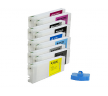 Комплект ПЗК для плоттера Epson Stylus Pro 9890 (9х700мл.)