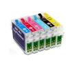 Перезаправляемые картриджи для Epson T080* / T079*
